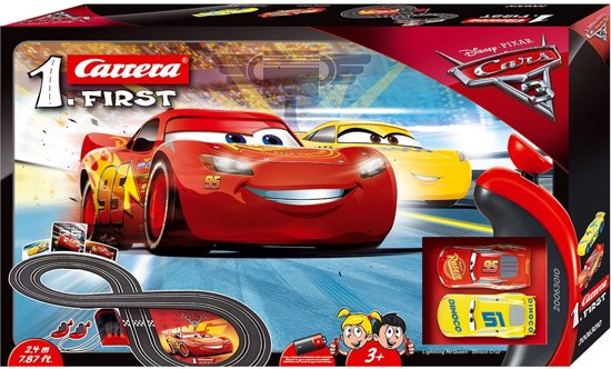 Carrera First Disney Cars 3 - Racebaan