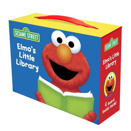 Boek cover Elmos Little Library van Sarah Albee (Onbekend)