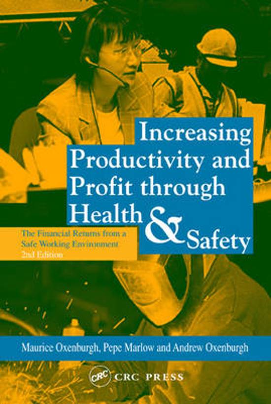 Bol Increasing Productivity And Profit Through Health And
