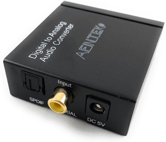 Verwonderlijk bol.com | Digital Audio Converter (DAC) Digitaal Toslink naar rood CH-99