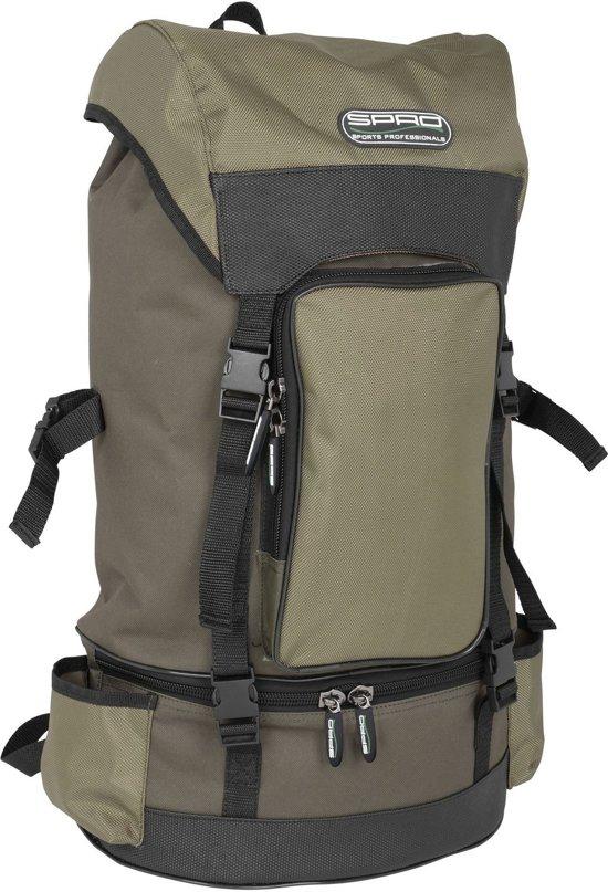 Spro allround green back pack | rugtas