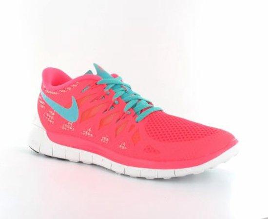 best loved 754f6 5dbd2 Nike Womens Free 5.0 - Hardloopschoenen - Dames - Maat 36,5 - Fluor Roze