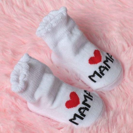 Babysokjes | I love mama