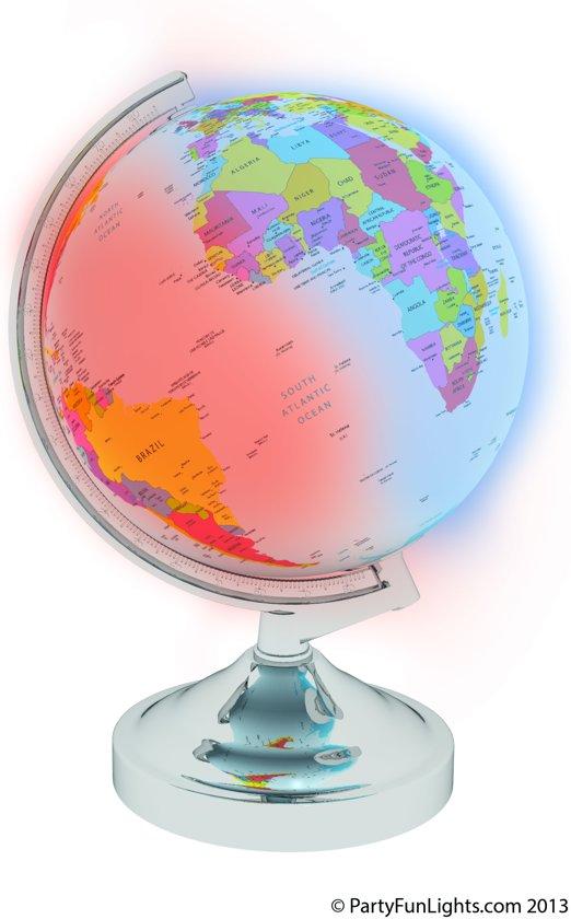 bol.com | Globe Met Licht, PartyFunLights | Speelgoed