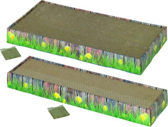 Nobby krabplank dubbel karton - 48 x 25 x 5 cm