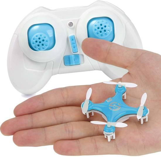 Cheerson CX-10 mini drone - Blauw