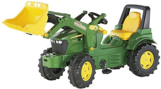 Rolly Toys FarmTrac John Deere - Traptractor met Frontlader
