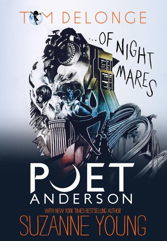 Boek cover Poet Anderson ...Of Nightmares van Tom J. Delonge (Onbekend)