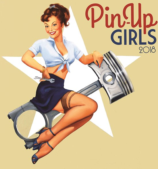 Pin up girls kalender 2018 - Femme pin up ...