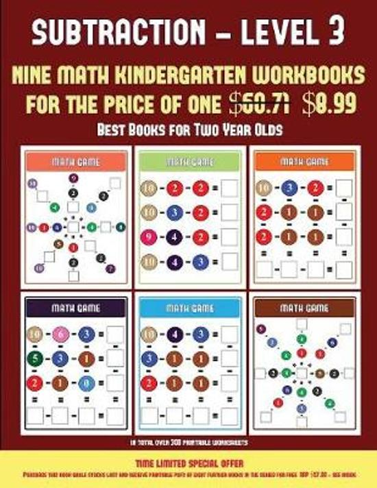 Best Books for Two Year Olds (Kindergarten Subtraction/Taking Away Level 3)