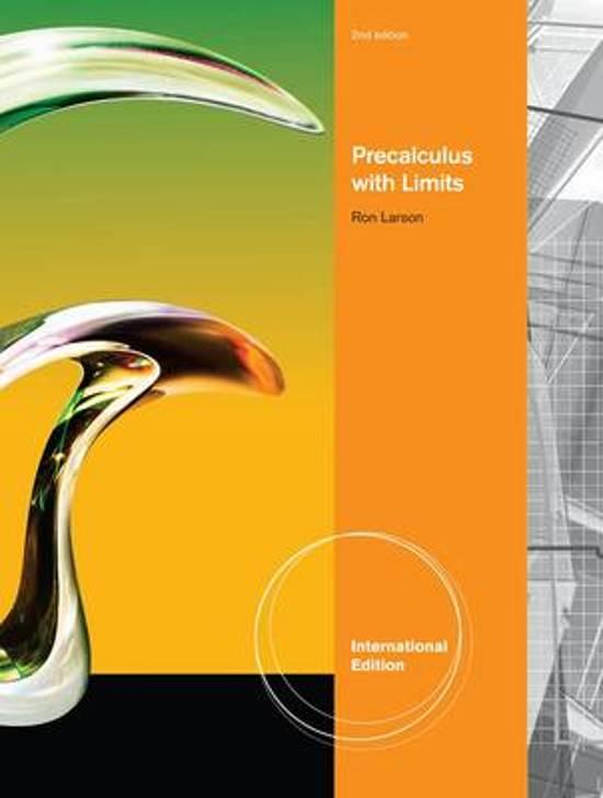 Ron Larson Precalculus 6th Edition Online free