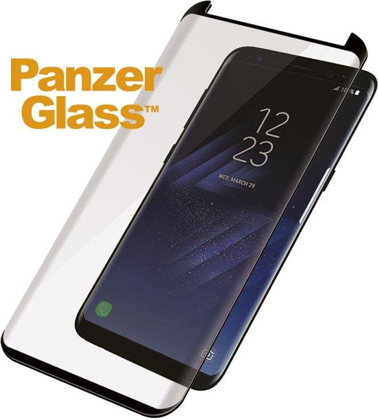 PanzerGlass Case Friendly Privacy Screenprotector voor Samsung Galaxy S8 - Zwart