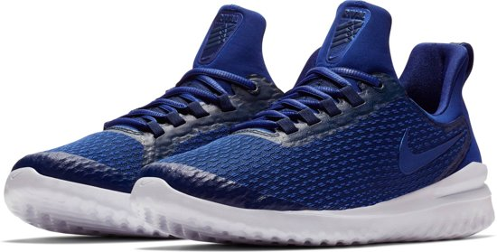 Nike Renew Rival Hardloopschoenen Heren - Blue Void/Deep Royal Blue-Whit - Maat 46