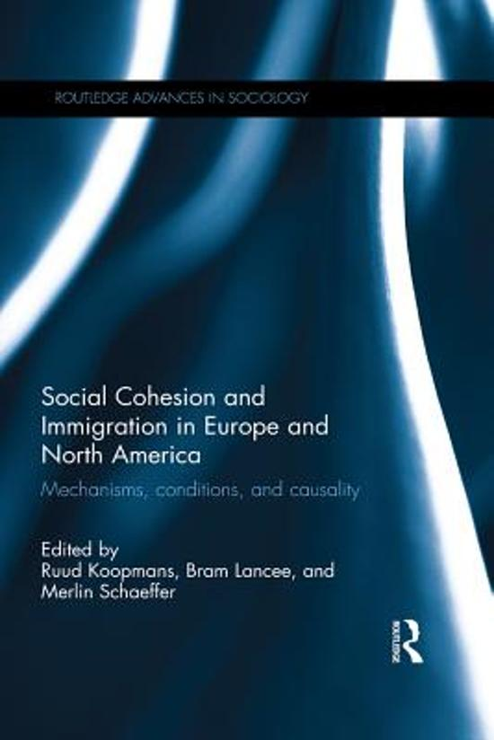 Boek cover Social Cohesion and Immigration in Europe and North America van  (Onbekend)