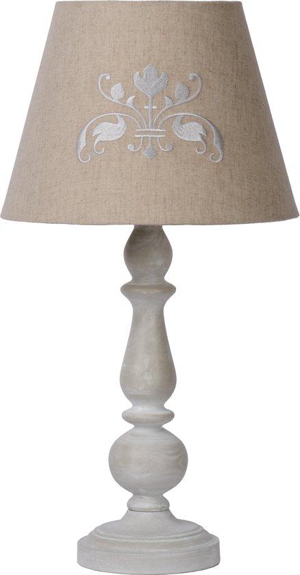 Lucide ROBIN - Tafellamp - E27 - Taupe