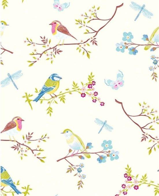Eijffinger Pip Studio Behang.Eijffinger Pip Studio Behang Early Bird White