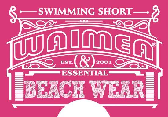 Short 40 Beach Waimea DamesLotus Fuchsia SMVpqUz