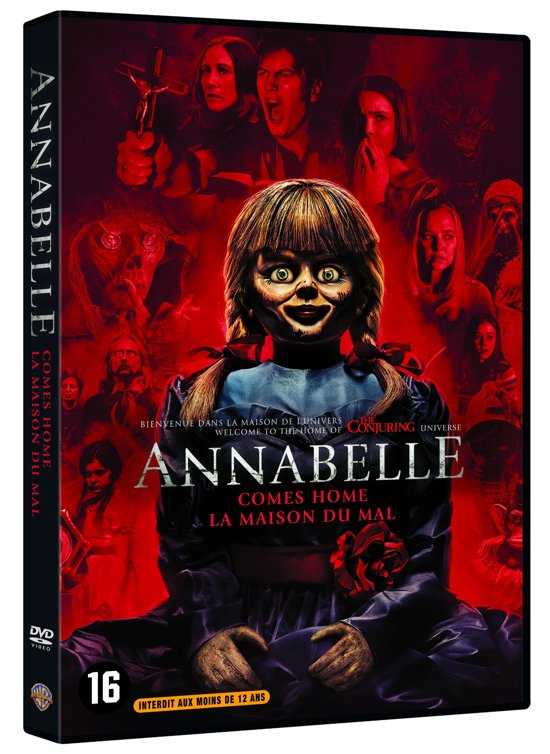 DVD cover van Annabelle Comes Home