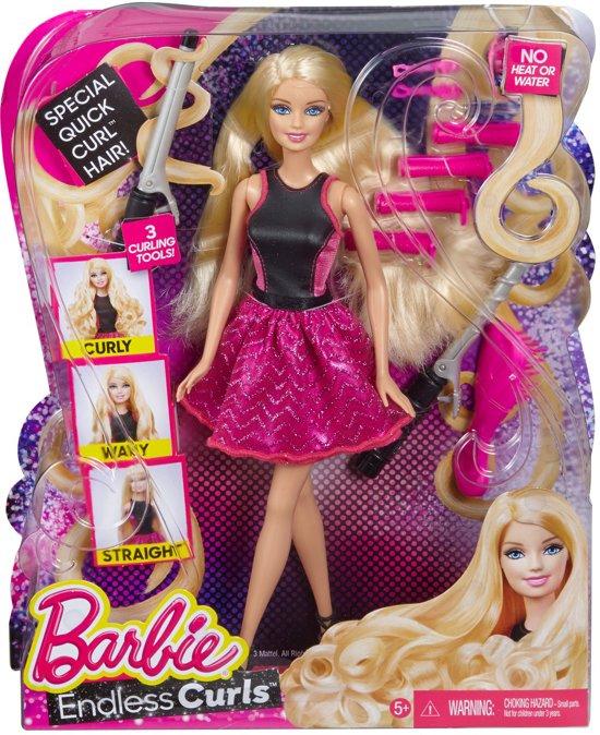 Barbie Eindeloze Krullen - Barbie pop