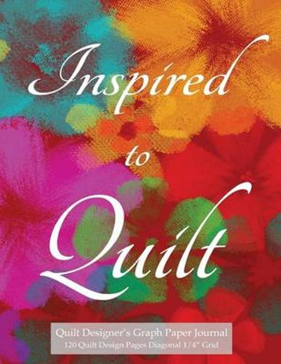 Quilt Designer's Graph Paper Journal 120 Quilt Design Pages 1/4 Diagonal Grid