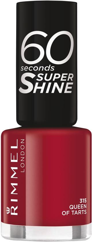 Rimmel London 60 Seconds Supershine Nagellak - 315 Queen Of Tarts