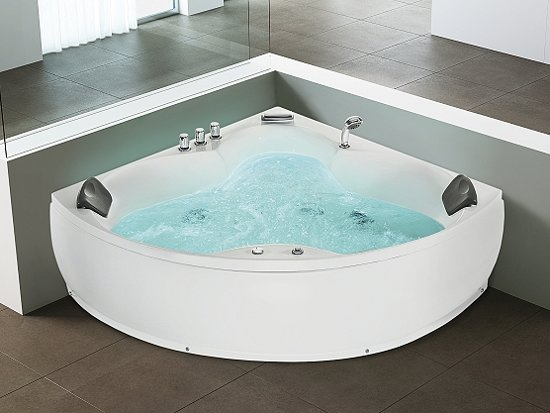 whirlpool indoor jacuzzi bubbelbad spa hoekbad. Black Bedroom Furniture Sets. Home Design Ideas