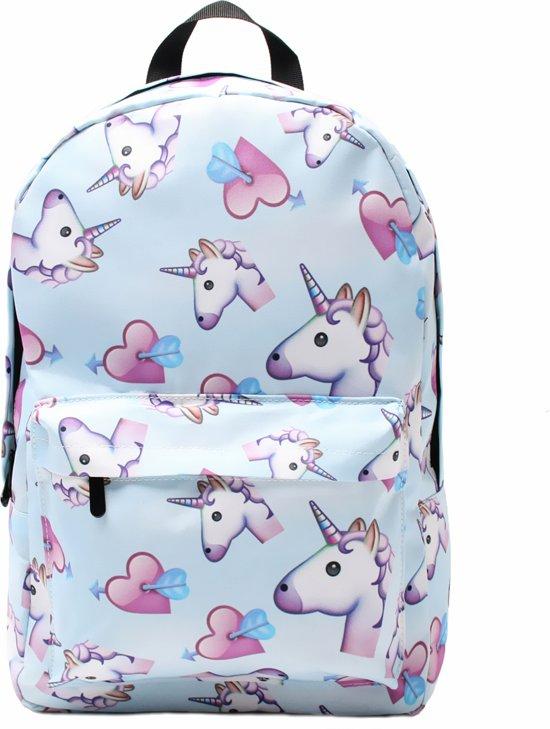 9a172ad77ba ... Unicorn Love Rugtas - 20 Liter - Hippe Rugzak voor de Basischool -  EmojiShop.nl ...