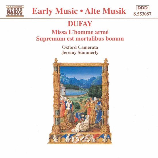 Early Music  Dufay: Missa L'homme arme / Summerly