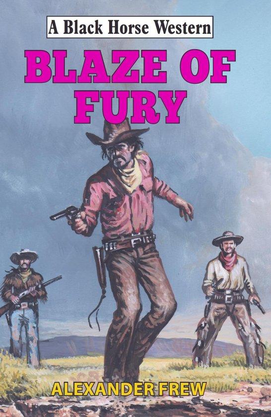 Boek cover Blaze of Fury van Alexander Frew (Onbekend)