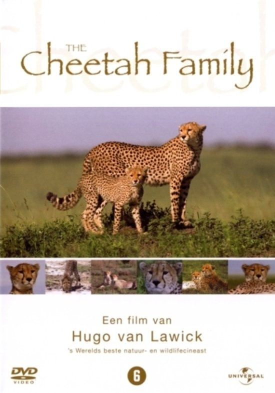 Hugo van Lawick: Wildlife Collection - Cheetah Family