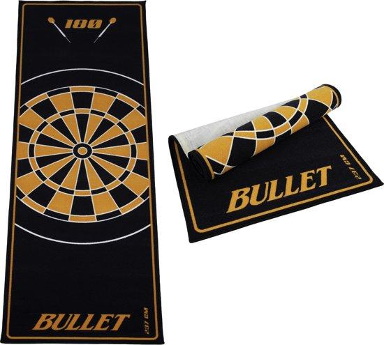 Dartset - Nodor Supamatch 2 dartbord - surround ring zwart - Bullet dartmat oranje - plus 2 sets dartpijlen (23 gram) inclusief accessoires