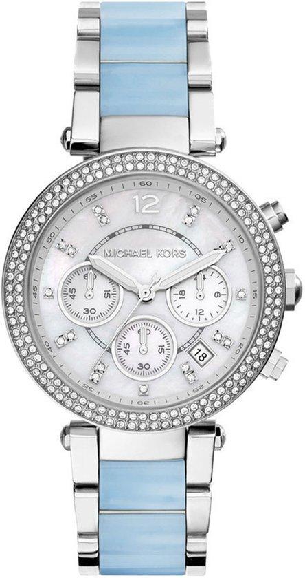 Michael Kors MK6138 - Horloge - Staal - Zilverkleurig - Ø 39 mm