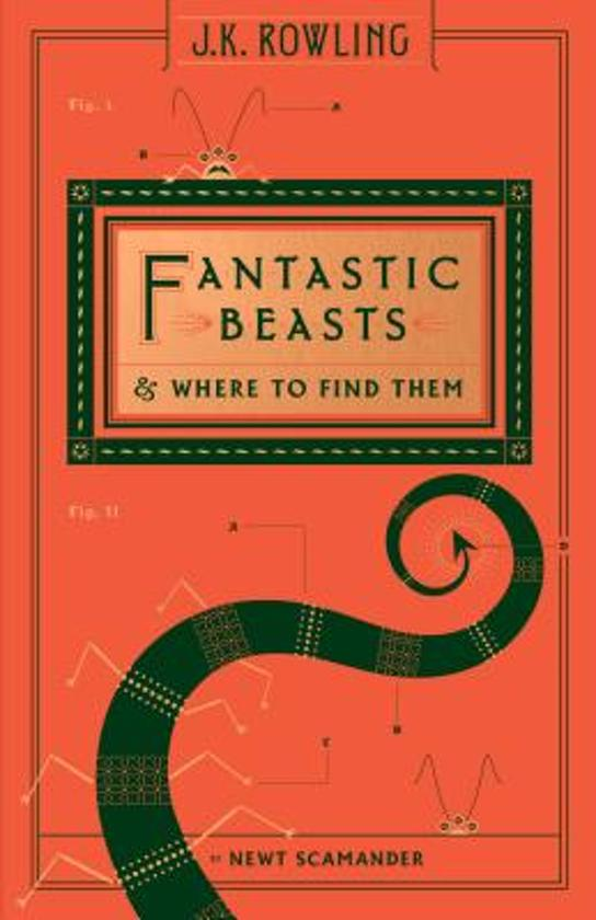 Boek cover Fantastic Beasts and Where to Find Them (Hogwarts Library Book) van Newt Scamander (Hardcover)