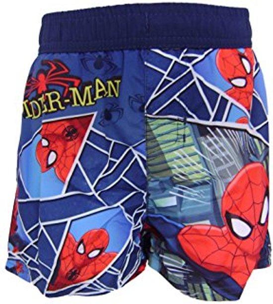 Spiderman Zwembroek.Bol Com Spiderman Zwembroek Spider Man Zwemshort Maat 128 Blauw