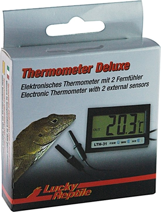 Lucky Reptile Thermometer - Deluxe Digitaal