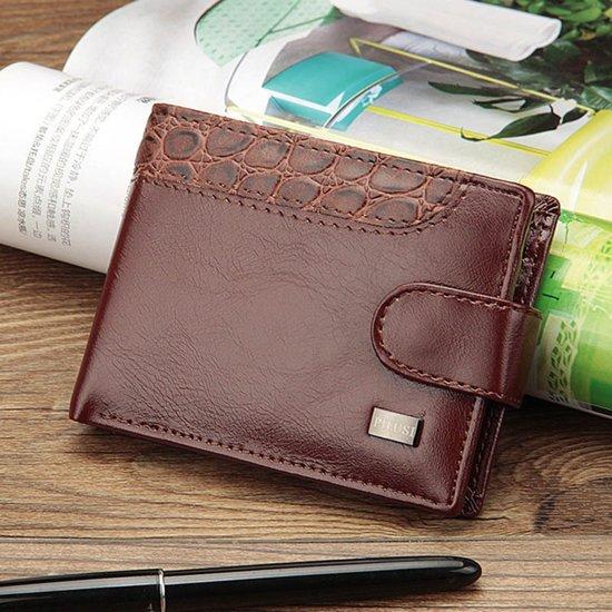 Luxe Portemonnee.Bol Com Luxe Portemonnee Wallet Koffie