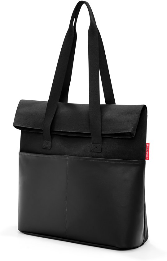SchoudertasWerktas 23l Black Reisenthel Canvas Foldbag exoCBd