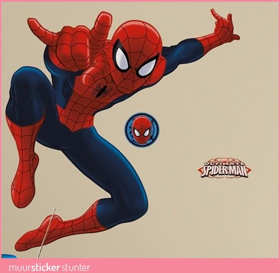 Disney Marvel Spiderman - Muurstickers - Multi