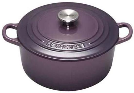 le creuset braadpan stoofpan cassis 26 cm. Black Bedroom Furniture Sets. Home Design Ideas