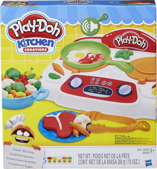 Play-Doh Kookplaat - Klei Speelset