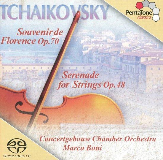 Tchaikovsky: Serenade for Strings, Souvenir de Florence - Boni -SACD- (Hybride/Stereo/5.1)