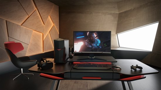 Lenovo Y27f - Full HD Curved Gaming Monitor