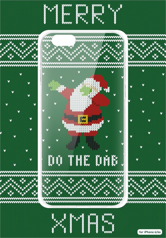 Kersttrui Met Dab.Bol Com Flavr Kerst Cardcase Ugly Xmas Sweater Dab Iphone 6 6s Groen