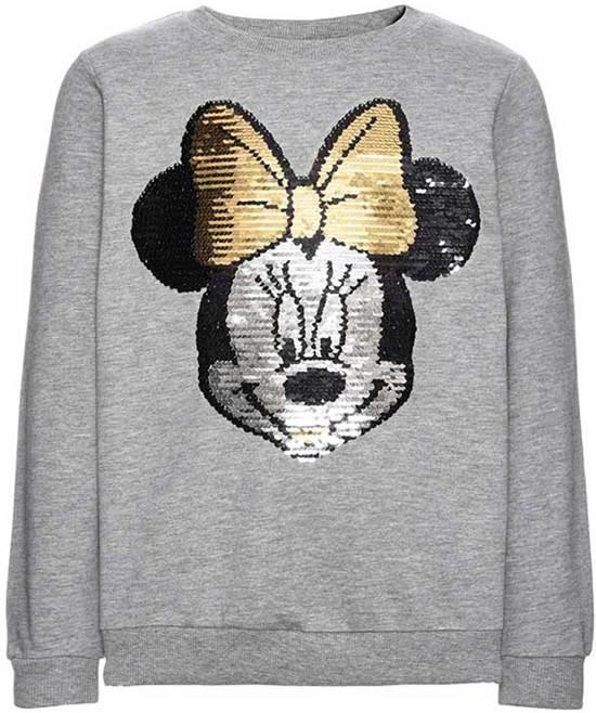 2c02140502e740 bol.com | Name it meisjes sweater - grijs - NKFdisney - maat 104