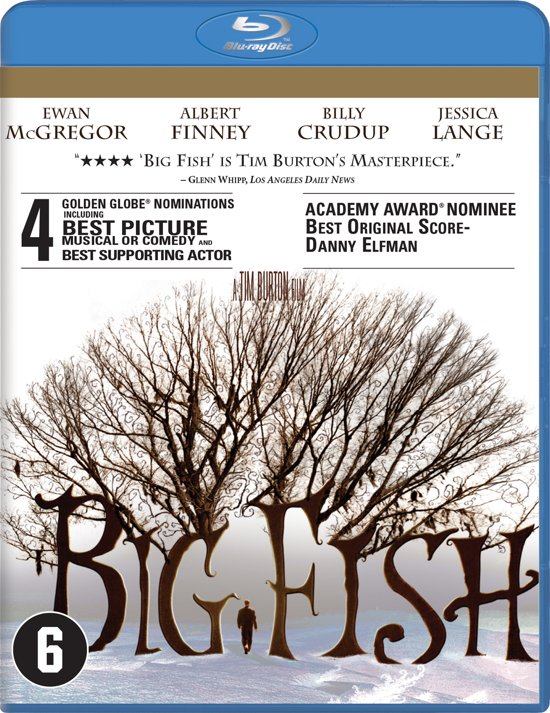 DVD cover van Big Fish (Blu-ray)