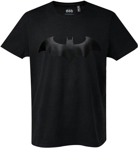 Batman-T-shirt-met-korte-mouw-zwart-maat-M