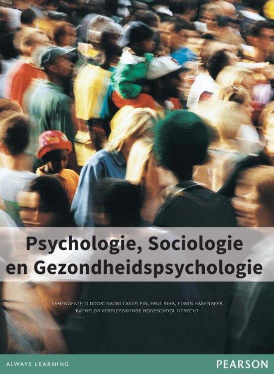 Psychologie sociologie en gezondheidspsychologie