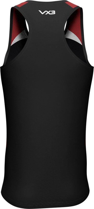 red white Vest 3xl Novus Black CeExQBordW