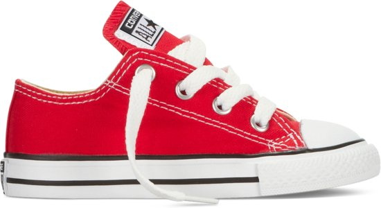 Converse Meisjes Sneakers Chuck Taylor As Ox Inf - Rood - Maat 23