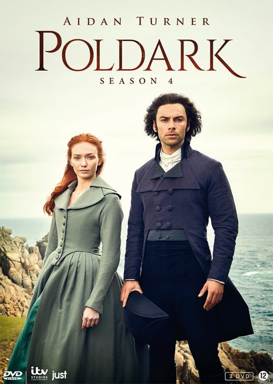 DVD cover van Poldark - Seizoen 4